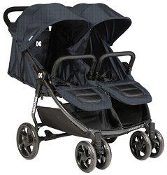 Бебешка количка за близнаци - Happy 2 - С 4 колела -