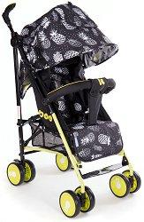 Лятна бебешка количка - Guarana - С 4 колела -