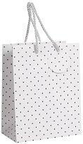 Торбичка за подарък на точици - Размери 18 x 23 cm -
