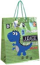 Торбичка за подарък - Динозавър - Размери 26 x 32 cm - продукт