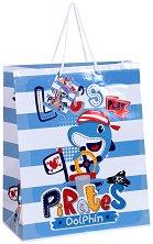 Торбичка за подарък - Пирати - Размери 26 x 32 cm - детски аксесоар