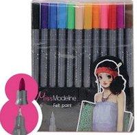 """Двувърхи флумастери - Комплект от 24 цвята  от серията """"Miss Modeline"""""""