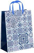 Торбичка за подарък с орнаменти - Размери 17.5 x 22.5 cm - продукт