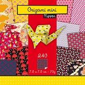 Хартия за оригами - Nippon - Комплект от 240 листа с размер 7.5 х 7.5 cm
