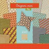 Хартия за оригами - Pop - Комплект от 240 листа с размер 7.5 х 7.5 cm