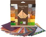 Хартия за оригами - Nature - Комплект от 60 листа с размери 20 х 20 cm