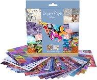 Хартия за оригами - Urban - Комплект от 60 листа с размери 20 х 20 cm