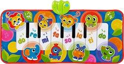 Постелка пиано - Животни от джунглата - Музикална играчка -