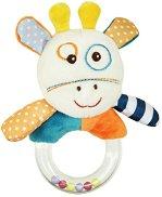 """Плюшена дрънкалка - Жирафче - Бебешка играчка от серия """"Raffy Giraffe"""" -"""
