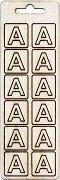 Формички от шперплат - Буква А