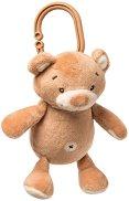 """Плюшено мече - Играчка с вибрация за детска количка от серия """"Bear Boo"""" -"""