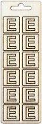 Формички от шперплат - Буква Е