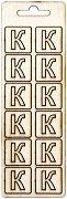 Формички от шперплат - Буква К