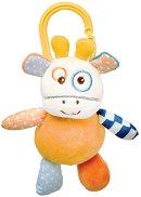 """Плюшено жирафче - Играчка с вибрация за детска количка от серия """"Raffy Giraffe"""" -"""