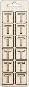 Формички от шперплат - Буква Т
