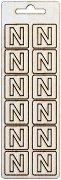 Формички от шперплат - Буква N