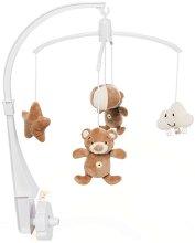 Музикална въртележка - Bear Boo - Играчка за бебешко креватче -