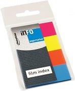 Самозалепващи неонови индекси - Комплект от 4 цвята по 40 листчета с размер 2 х 5 cm
