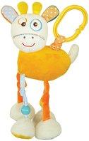 """Плюшено жирафче - Играчка с вибрация за детска количка от серия """"Raffy Giraffe"""" - играчка"""