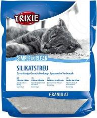 Trixie Simple'n'Clean Silicate Litter - продукт