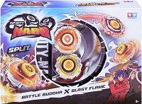 Infinity Nado - Battle Buddha vs Blast Flame - Комплект 2 бойни пумпала -