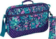 Чанта за рамо - Gabol: Fancy - Комплект с несесер - раница