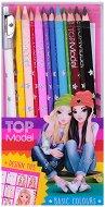 Цветни моливи - Комплект от 12 цвята с острилка