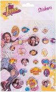 Декоративни стикери - Soy Luna - Комплект от 22 броя
