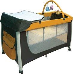 Сгъваемо бебешко легло на две нива - Deluxe -