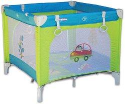 Сгъваема бебешка кошара за игра - Car -
