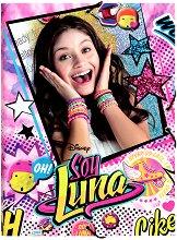 Папка с ластик - Soy Luna
