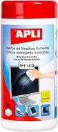 Влажни кърпички за почистване на TFT/LCD екрани - Комплект от 100 броя в кутия