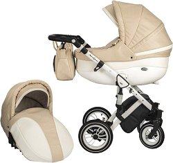 Бебешка количка 2 в 1 - Style - С 4 колела -