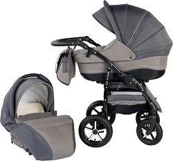 Бебешка количка 2 в 1 - Zipy - С 4 колела -
