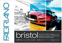 Блок за рисуване - Bristol - Плътност на хартията 250 g/m : 2 :
