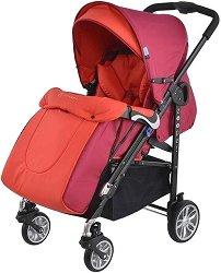 Комбинирана бебешка количка - Waltz - С 4 колела -
