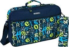 Чанта за рамо - Gabol: Marker - Комплект с несесер -