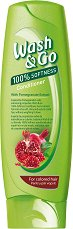 Wash & Go Conditioner With Pomegranate Extract - Балсам за боядисана коса с екстракт от нар -
