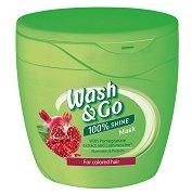Wash & Go Mask With Pomegranate Extract - Маска за боядисана коса с екстракт от нар - продукт