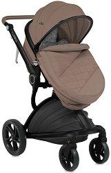 Комбинирана бебешка количка - Lumina - С 4 колела - количка