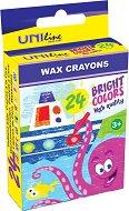 Восъчни пастели - Комплект от 24 цвята