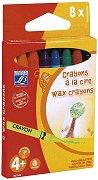 Восъчни пастели - Комплект от 8, 16 или 24 цвята