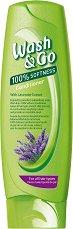 Wash & Go Conditioner With Lavender Extract - Балсам за всеки тип коса с екстракт от лавандула - продукт