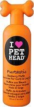 Pet Head Furtastic Creme Rinse for Curly & Long Coat - Крем-балсам за кучета с къдрава и дълга козина - опаковка от 475 ml -