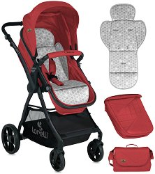 Комбинирана бебешка количка - Starlight - С 4 колела - количка