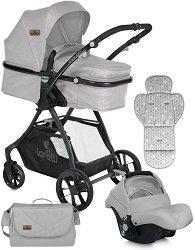 Бебешка количка 2 в 1 - Starlight Set - С 4 колела -