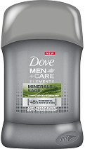 """Dove Men+Care Elements Minerals + Sage Antiperspirant Stick - Мъжки стик дезодорант против изпотяване от серията """"Men+Care Elements"""" - душ гел"""