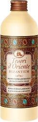 Tesori d'Oriente Byzantium Aromatic Bath Cream - Пяна за вана с аромат на черна роза и лабданум -