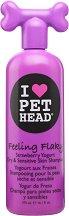 Pet Head Feeling Flaky Shampoo - Шампоан за кучета за суха и чувствителна кожа - опаковка от 475 ml -