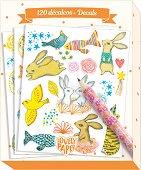 Ваденки - Животни - Комплект от 120 броя с молив